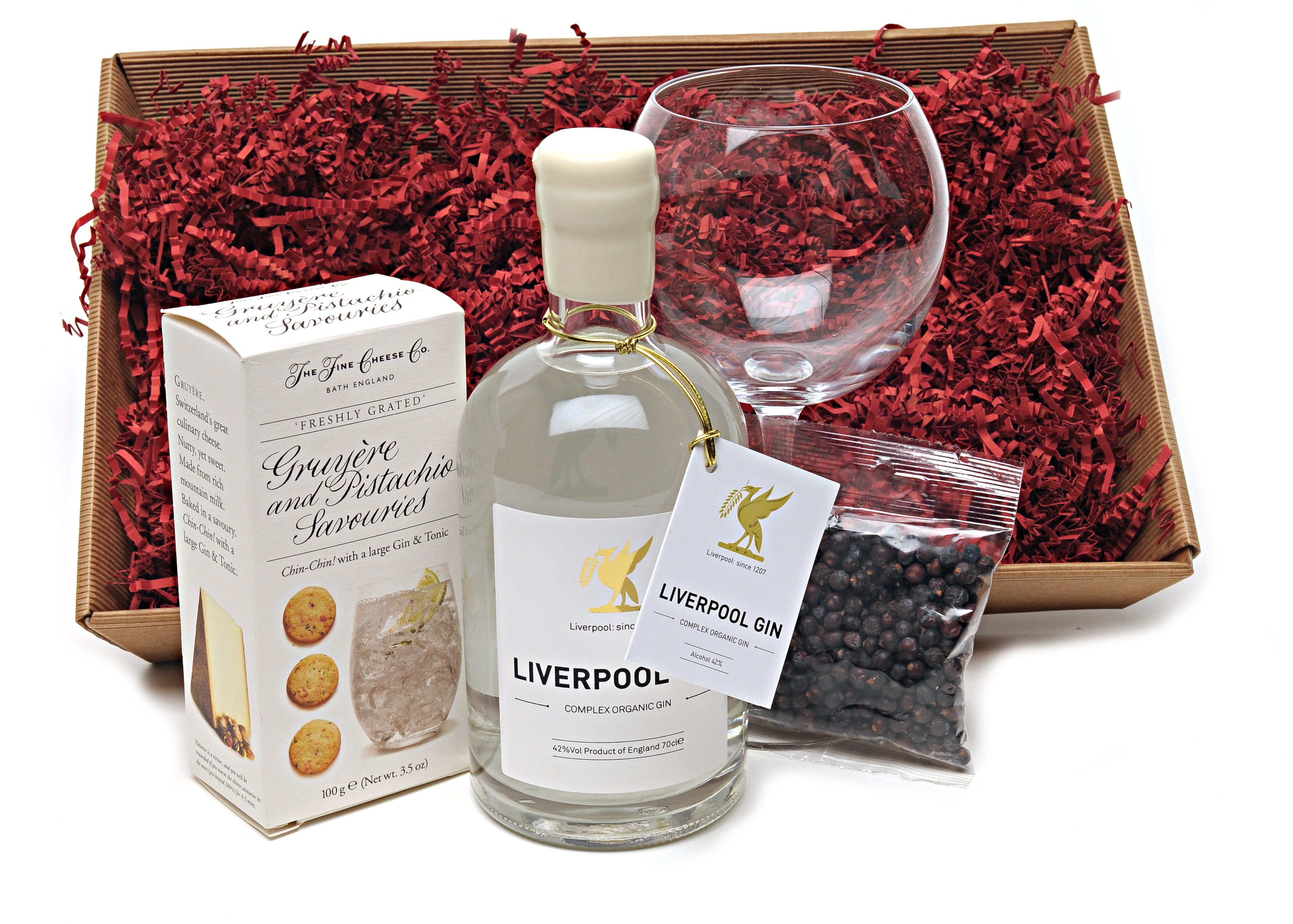Liverpool Gin Hamper Lunya