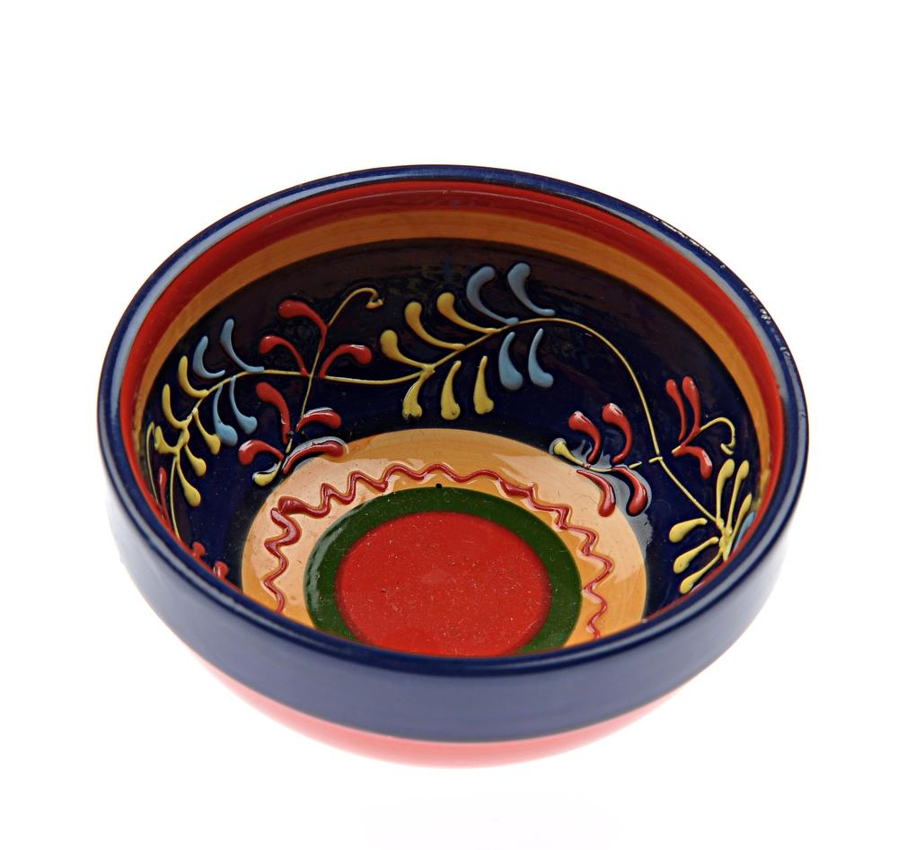Hand Painted Spanish Ceramic Bowl