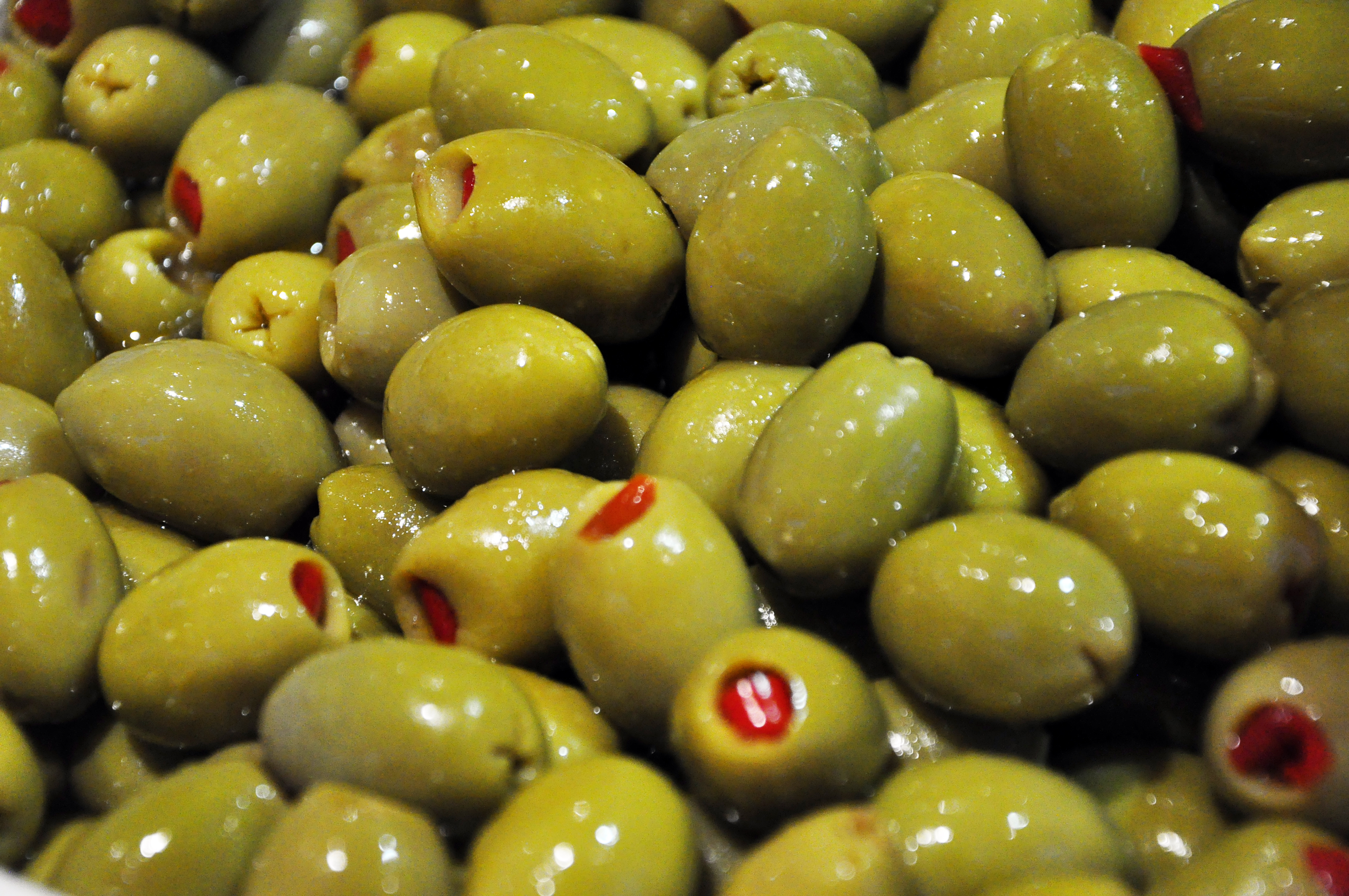 ... olives £ 3 00 £ 13 50 red pepper stuffed manzanilla olives one of