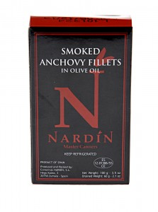 Nardin Cold Smoked Anchovy