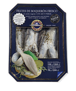 Buy packed boquerones online | Extra large marinated anchovies