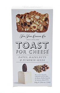 Toasts for Cheese - Date and Hazlenut