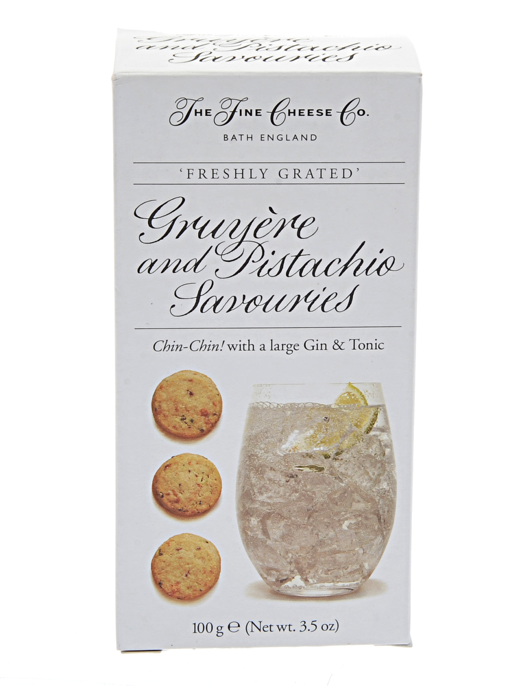 Gruyere & Pistachio Savouries