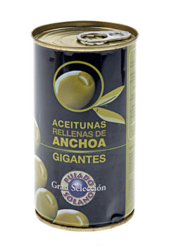 Buy Anchovy Stuffed Olives online | Spanish Olives