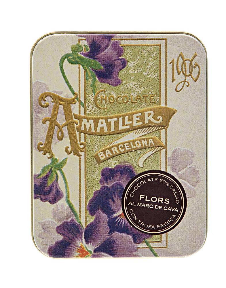 Buy Amatller Cava Truffles online | Amatller chocolate