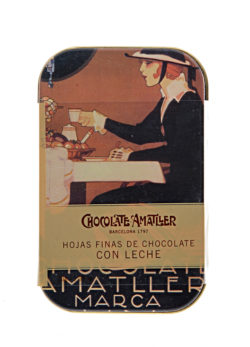 Amatller Milk Choc Leaves