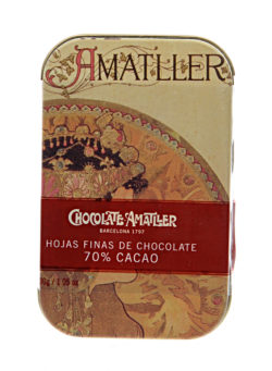 Buy Amatller Dark Chocolate Leaves online | Amatller Chocolate