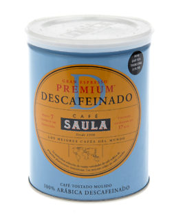 Buy Cafe Saula Decaf Tin online | Saula Decaf Coffee