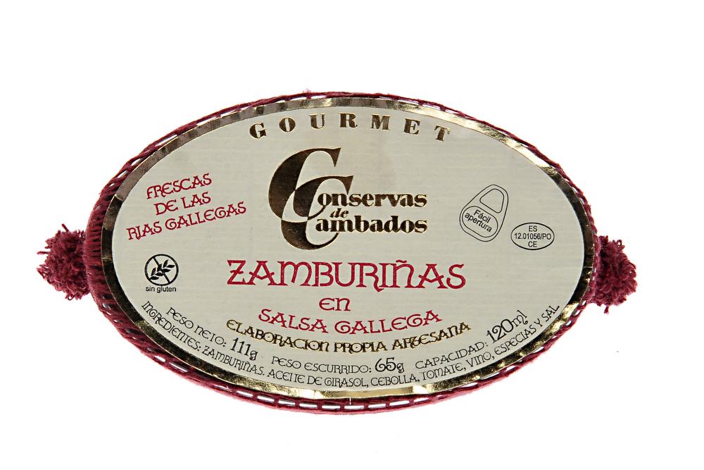 Zamburinas mini scallops