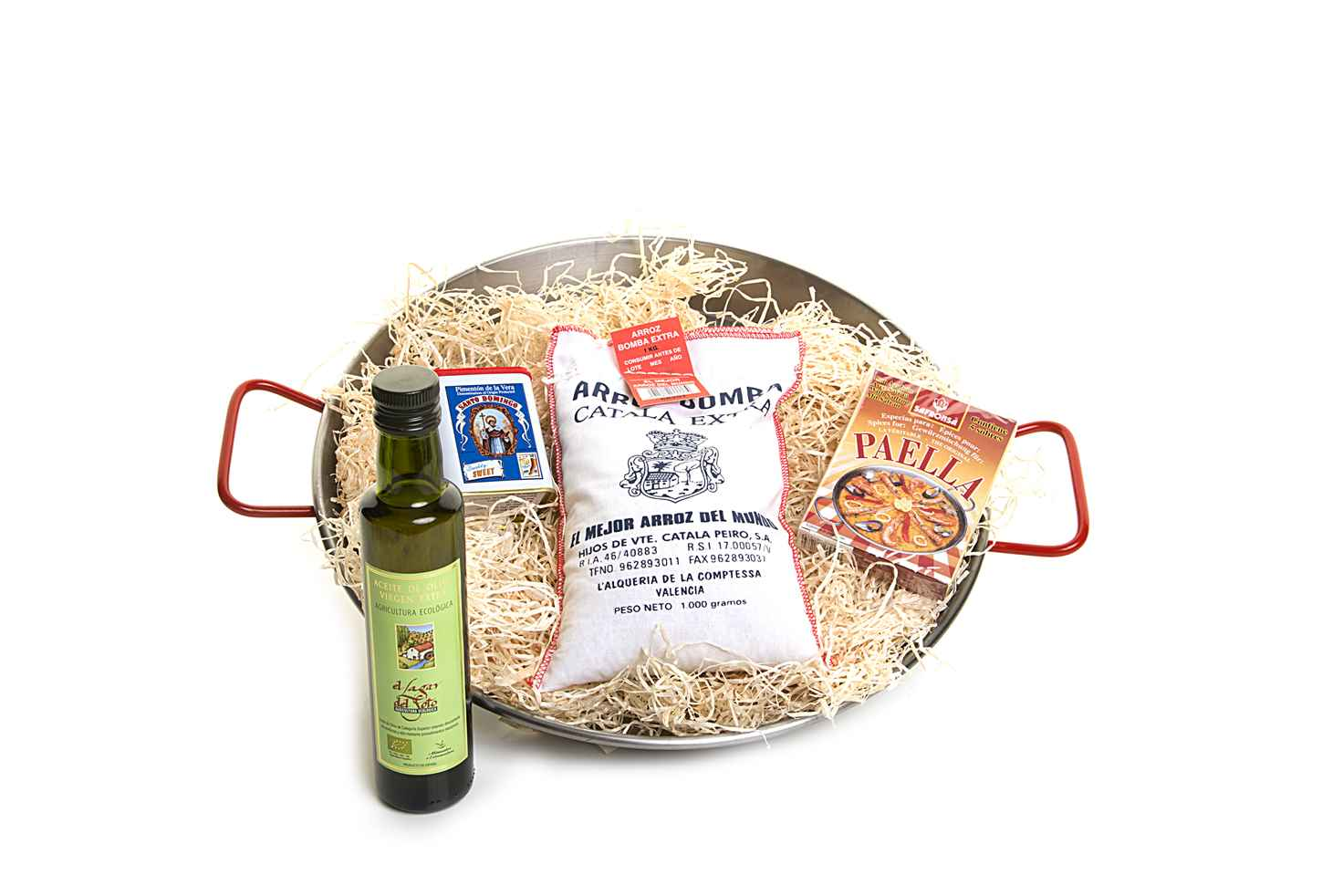 Paella hamper for 2