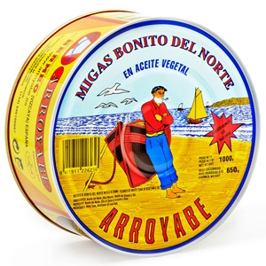 Buy Bonito Tuna Flakes online | Arroyabe Tuna | Cantabrian Bonito Tuna
