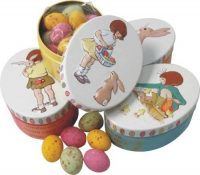 Buy Belle and Boo Oval tin with speckled eggs 120g online