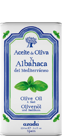 Buy Azada Basil & Olive Oil Can online