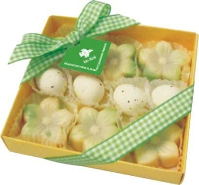 Praline Flowers & Marc de Champagne Eggs