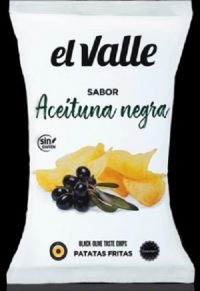Aceituna Negra Crisps 130g