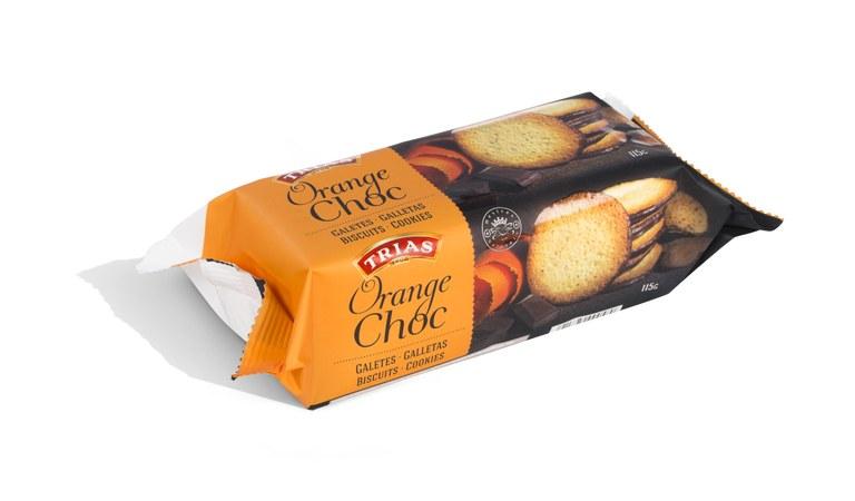 Trias Teules Orange - Choco 115g