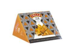 Trias Triangle Orange - Choc 100g