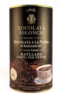 Vicens Grated Chocolate 500g 60% Cacao