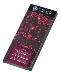 Vicens Bitter chocolate with Raspberry 100g