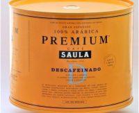 Cafe Saula Decaf Tin 1Kg beans