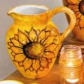Large Jug Sunflowers