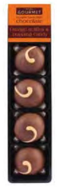 Bon Bon's Orange Truffles with Popping Candy
