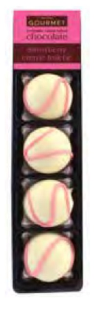 Bon Bon's Strawberry Crème Fraiche Truffles