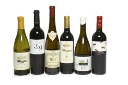 Cases of wines